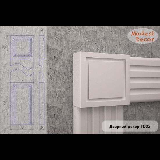 Верхний декоративный элемент Madest Decor TD02 95Х95Х18