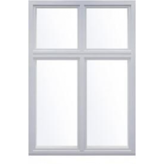 Деревоалюминиевое окно Lammin MEK-A без функции открывания