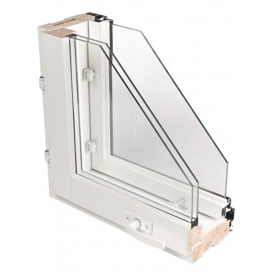 Деревоалюминиевое окно Lammin MSE-A