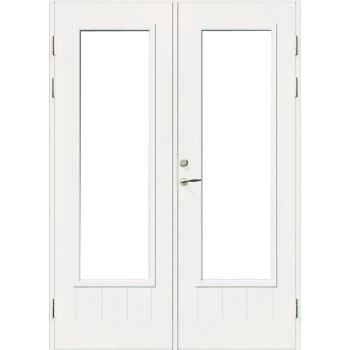 Дверь входная террасная SWEDOOR Jeld-Wen PO1894 W18, двустворчатая
