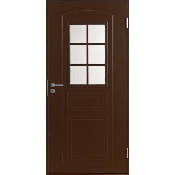 Входная дверь Jeld-Wen Basic 020 коричневая