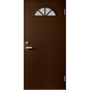Входная дверь Jeld-Wen Basic 050 коричневая