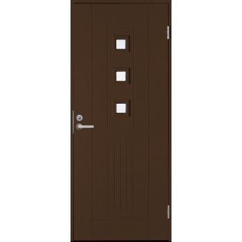 Входная дверь Jeld-Wen Basic 060 коричневая