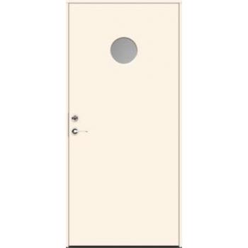 Входная дверь JELD-Wen Character Luna с безрамочным стеклопакетом и скрытыми петлями