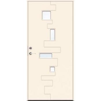 Входная дверь JELD-Wen Character Pulse с безрамочным стеклопакетом и скрытыми петлями