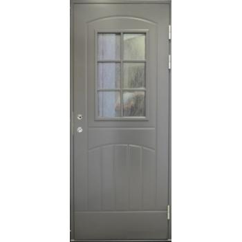 входная дверь Jeld-Wen Function F2000 W71 темно-серая