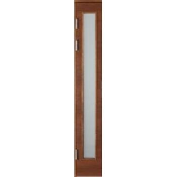 Створка открывающаяся с остеклением W69, шпон ясеня, матовое или декоративное стекло