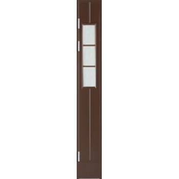 Створка открывающаяся с остеклением AL1240 W71, для окрашенных дверей, со стеклом Cotswold
