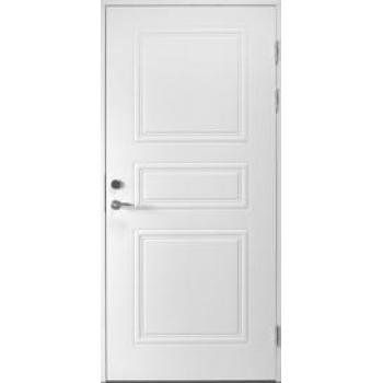 Входная дверь Jeld-Wen Classic C1850, рисунок с обеих сторон