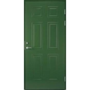 Входная дверь Jeld-Wen Classic C1881, рисунок с обеих сторон
