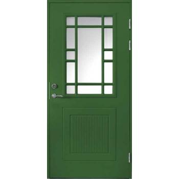 Входная дверь Jeld-Wen Classic C1901 W47 со стеклом Cotswold, рисунок с обеих сторон