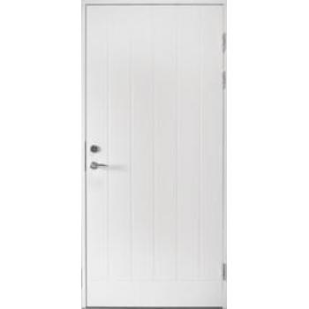 Входная дверь Jeld-Wen Function F1894 с фрезерованной внешней стороной и гладкой внутренней