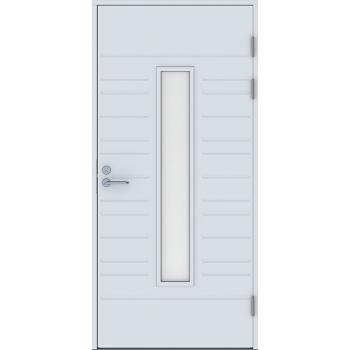 Входная дверь Jeld-Wen Function F1896 W28 со стеклом Cotswold с фрезерованной внешней стороной
