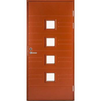 Входная дверь Jeld-Wen Function F1896 W84 со стеклом Cotswold с фрезерованной внешней стороной