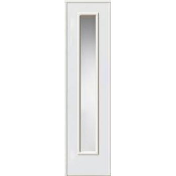 Стационарная боковая створка с остеклением W01 для окрашенных дверей, матовое стекло