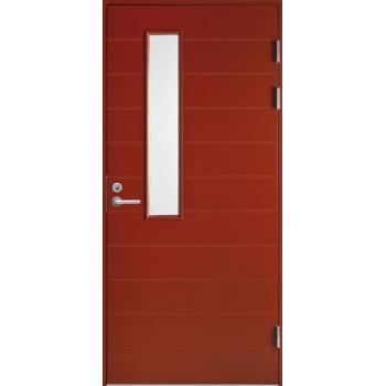 Входная дверь Jeld-Wen Function F1893 W22 с фрезерованной внешней стороной