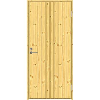 Входная дверь Jeld-Wen MOKKI1 с сосновой поверхностью
