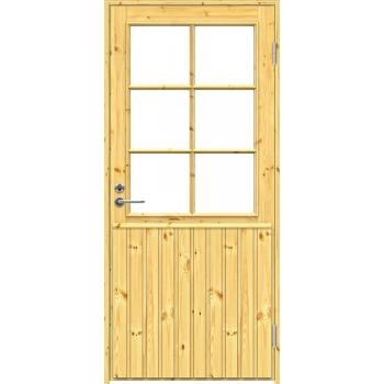Входная дверь Jeld-Wen MOKKI2 с сосновой поверхностью