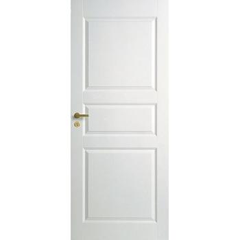Дверь трехфиленчатая облегченной конструкции для ванной комнаты