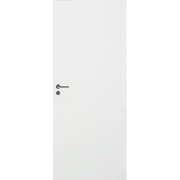 Дверь белая гладкая для ванной комнаты