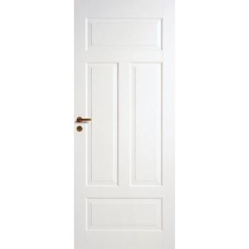 Дверь четырехфиленчатая облегченной конструкции для ванной комнаты