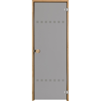 Дверь для сауны с круглой ручкой Purity Pisara