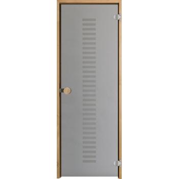Дверь для сауны с круглой ручкой Purity Vertico