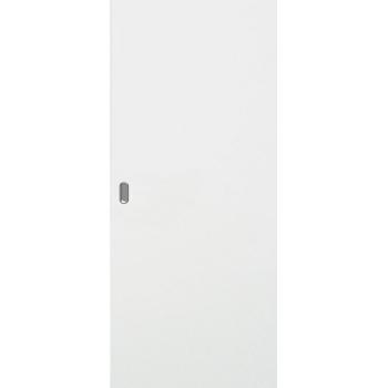 Дверь белая гладкая откатная КОМПЛЕКТ для монтажа на стену