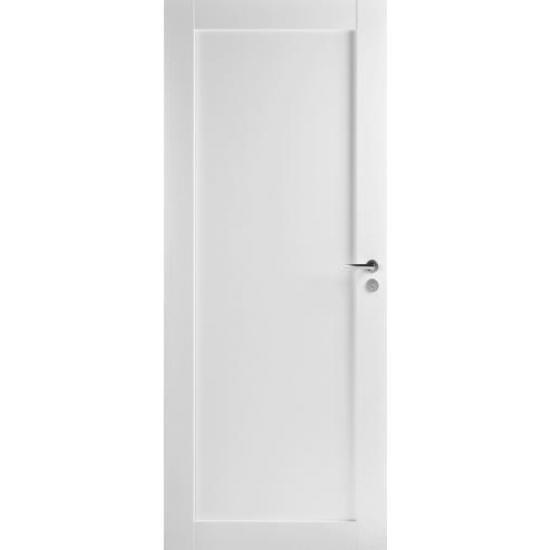 Дверь Trendi 301 с одной филенкой глухая белая