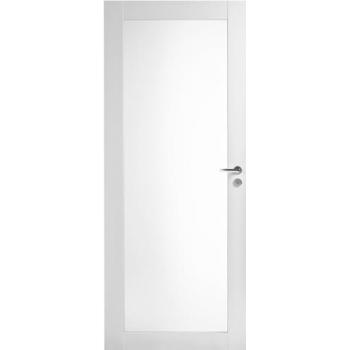 Дверь Trendi 302S с одной филенкой белая с матовым стеклом