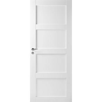 Дверь Trendi 307 четырехфиленчатая белая глухая