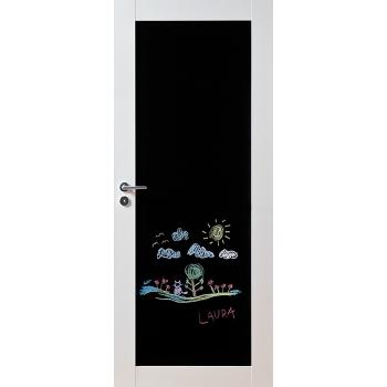 Дверь массивная Unique 501B с доской для рисования